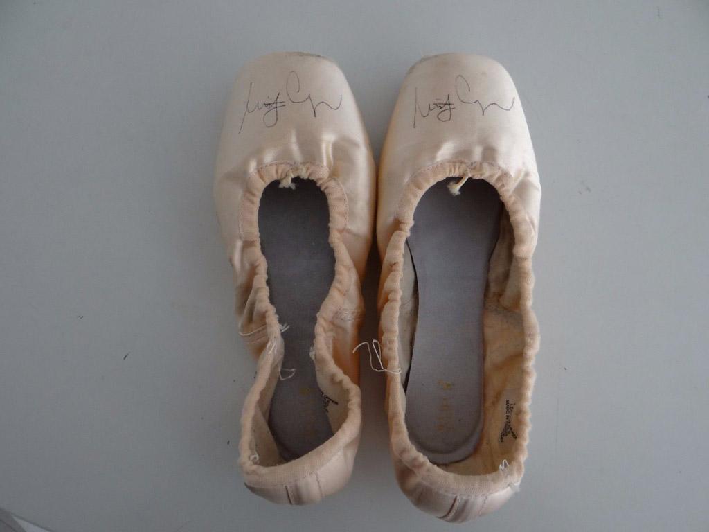 misty copeland ballet pointe shoes