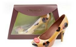Chocolate Leopard High Heel Shoes