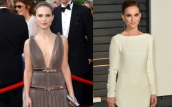 Natalie Portman Oscars Red Carpet