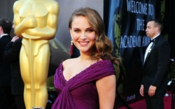 Natalie Portman at the 2011 Oscars.