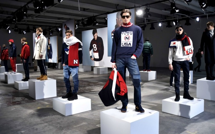 Nautica fall '17 collection at New York Men's Fashion Week.