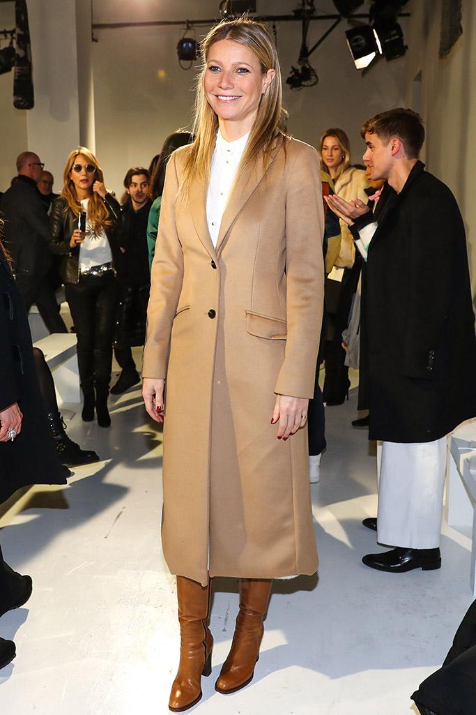 Gwyneth Paltrow New York Fashion Week Front Row Celebrities
