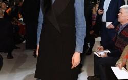 Front Row at Calvin Klein Spring '17