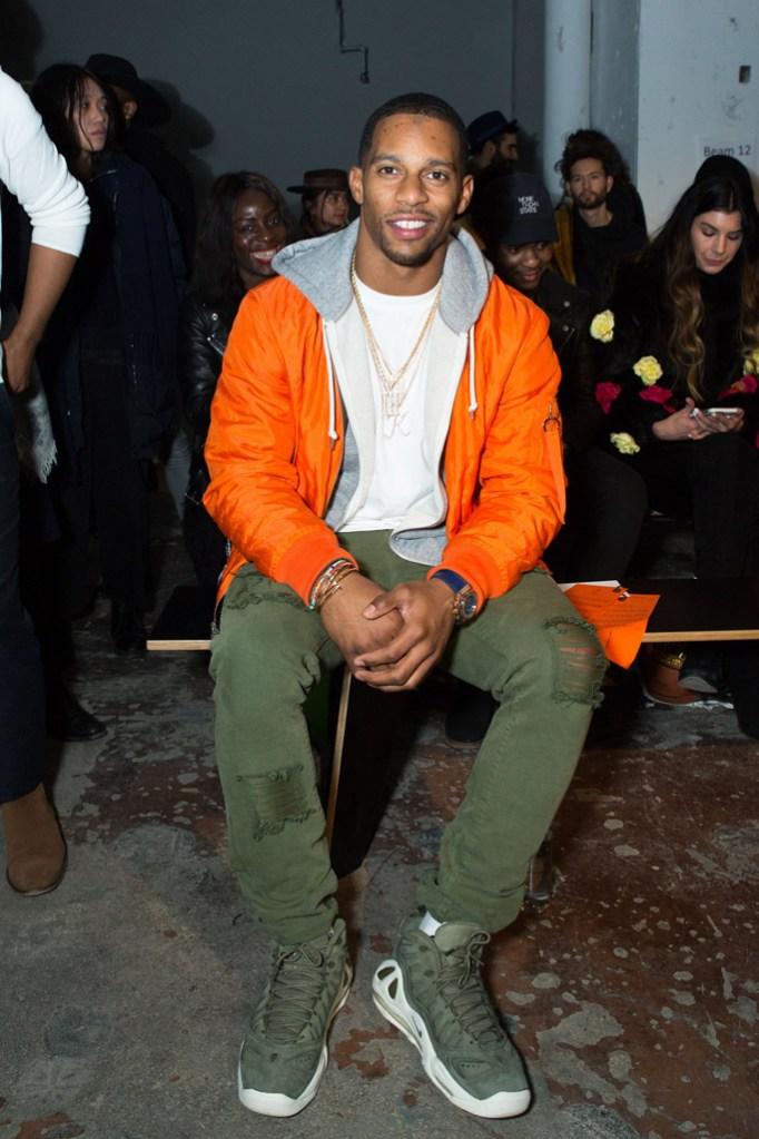 New York Mens Fashion Week Front Row