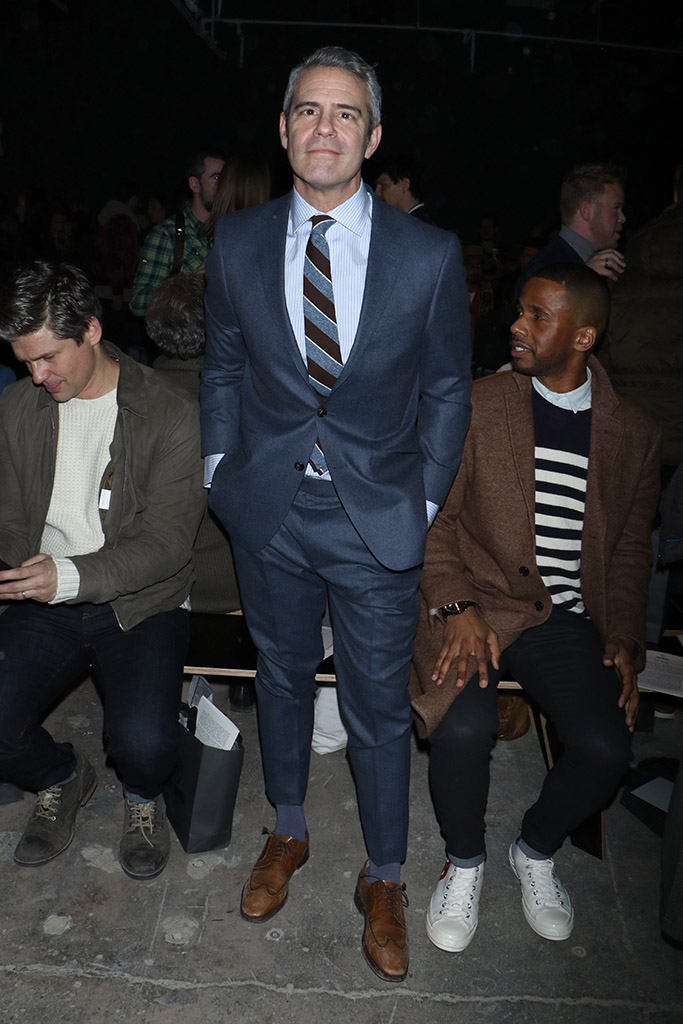 New York Mens Fashion Week Front Row