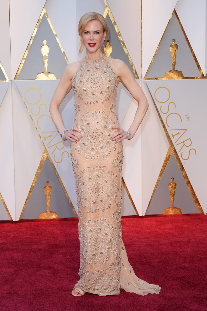 Nicole Kidman Oscars 2017 Red Carpet