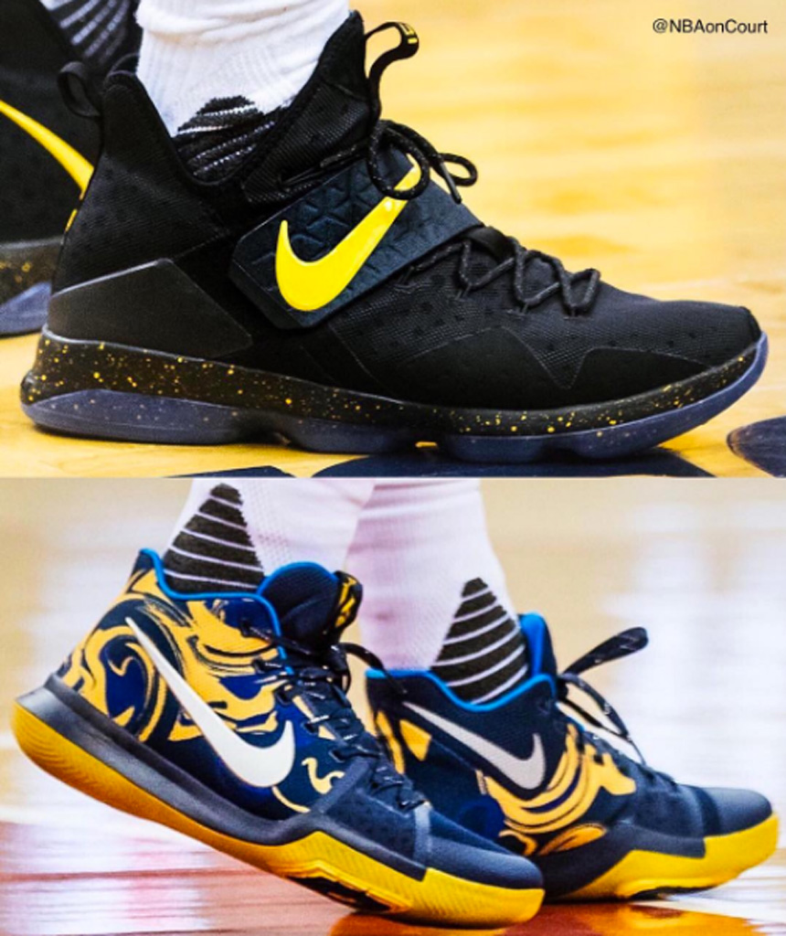 Nike LeBron 14 Kyrie 3 player's editions