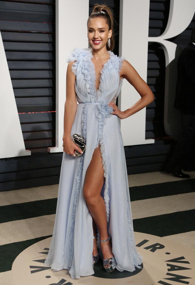 Jessica Alba Oscars Vanity Fair Party 2017
