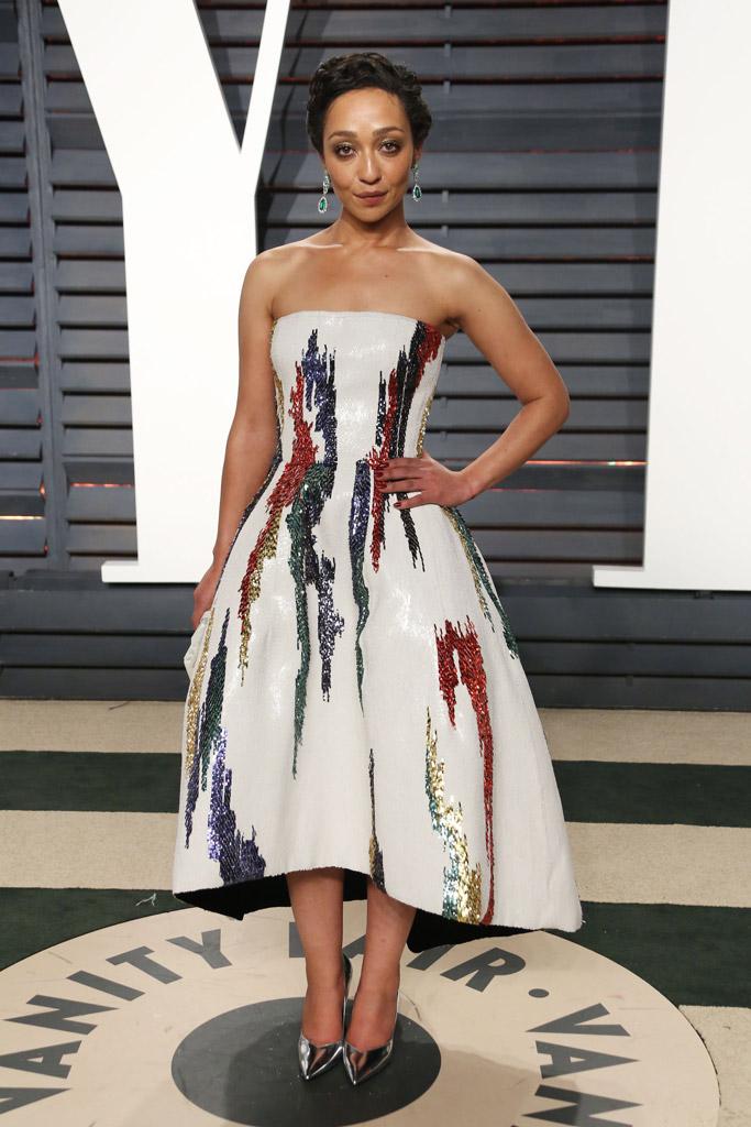 Ruth Negga Oscars Vanity Fair Party 2017