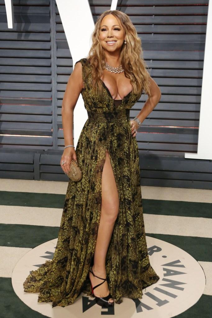Mariah Carey Oscars Vanity Fair Party 2017