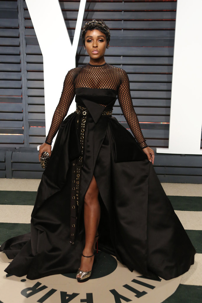 Janelle Monáe Oscars Vanity Fair Party 2017