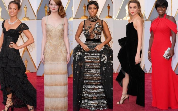 Oscars Red Carpet Best Dressed