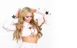 Paris Hilton for Christian Cowan