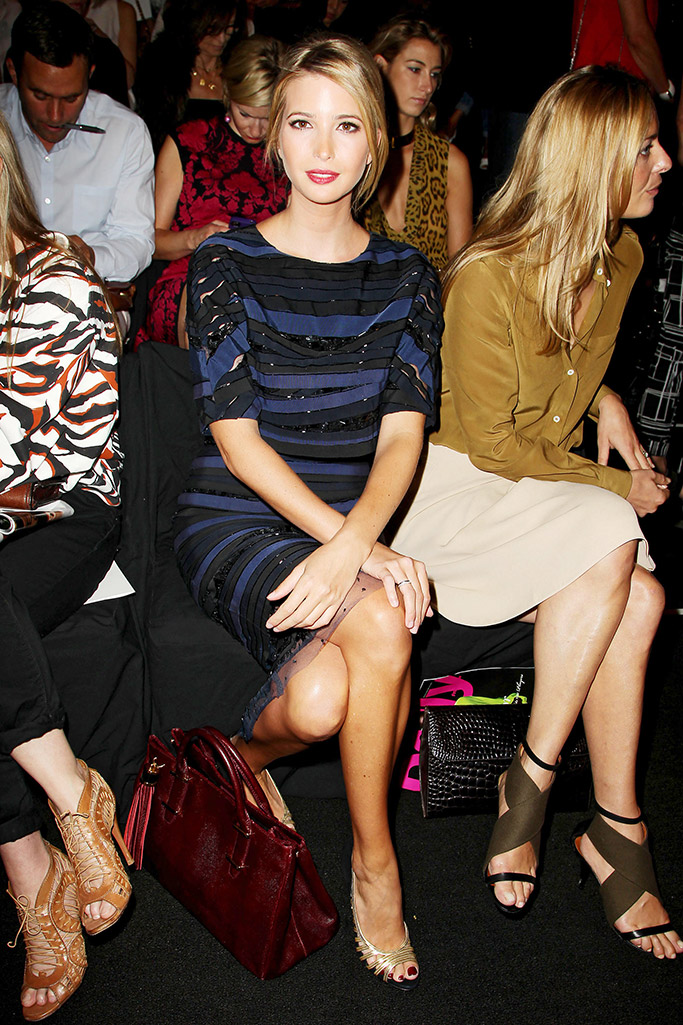 Ivanka Trump New York Fashion Week
