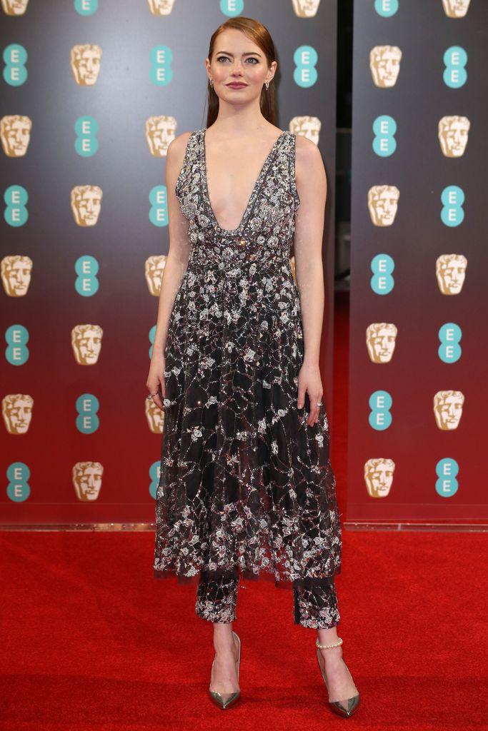 BAFTA Red Carpet Emma Stone