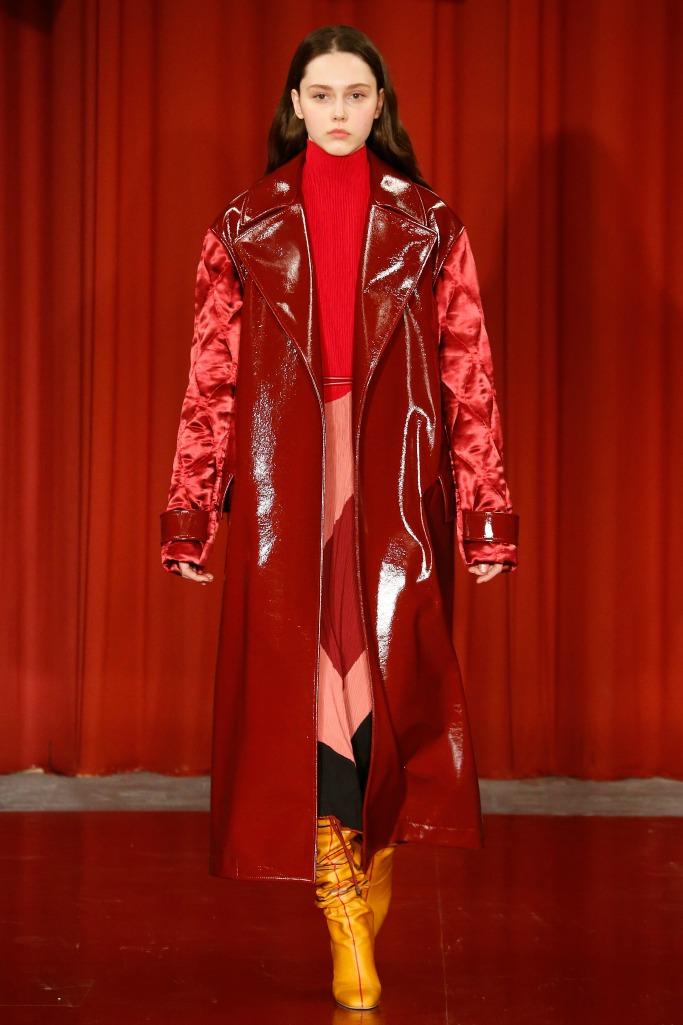 Roksanda fall '17 collection at London Fashion Week.