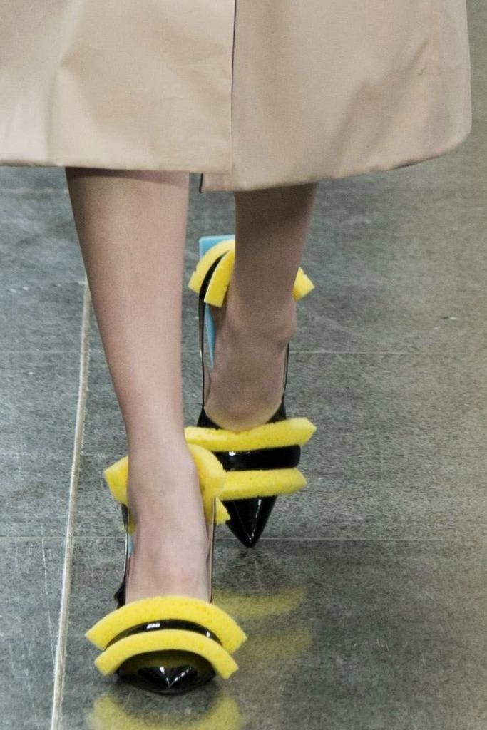 christopher kane craziest shoes london fashion week