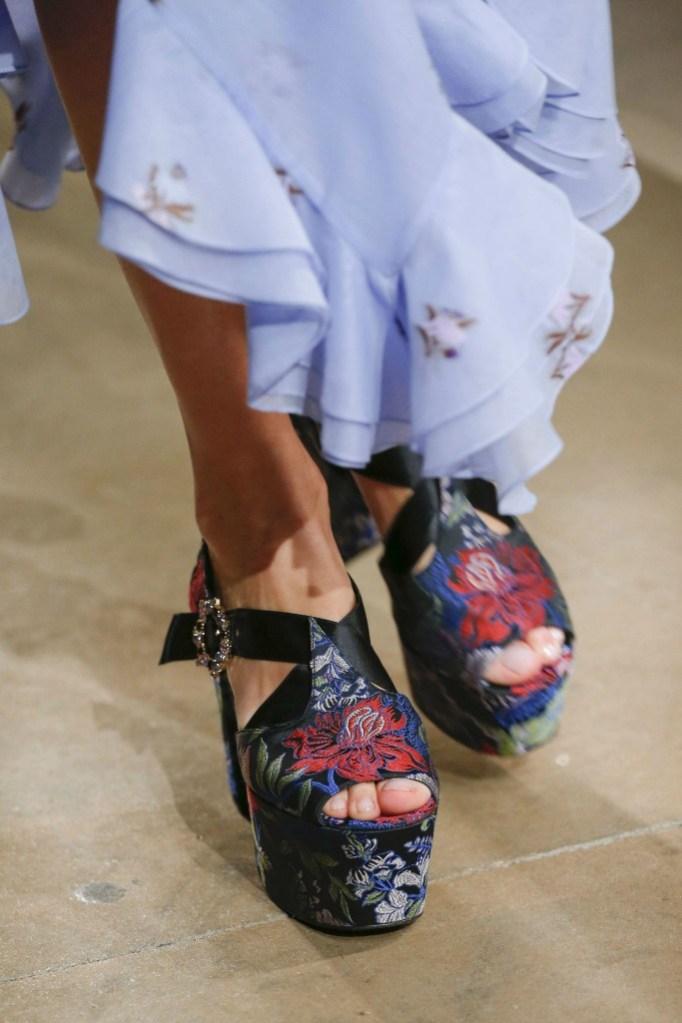 erdem top shoes london fashion week