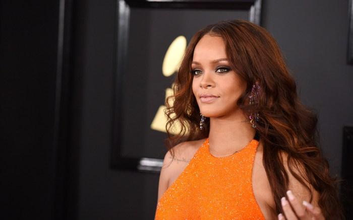 Rihanna 2017 Grammys Red Carpet