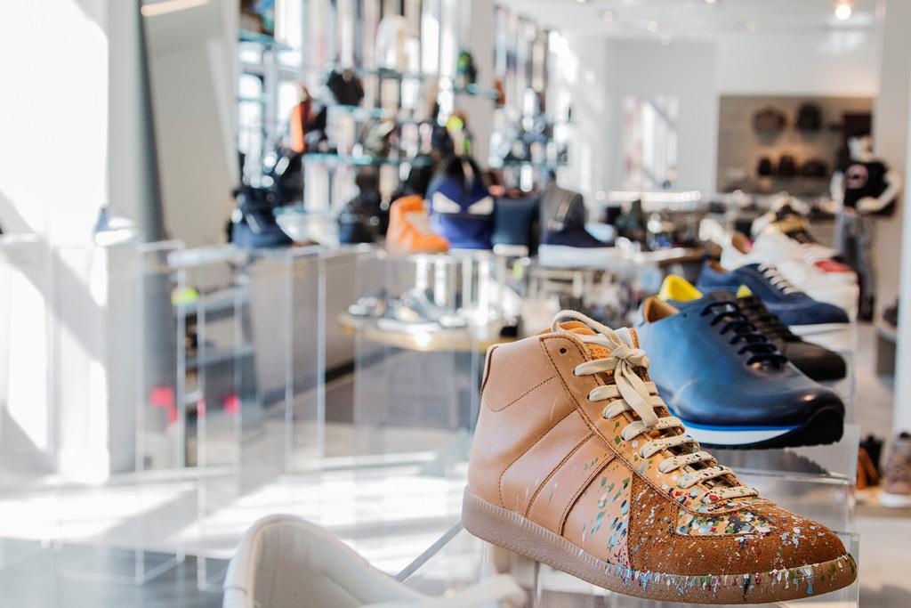 Saks Downtown Men's Store Is a Sneaker
