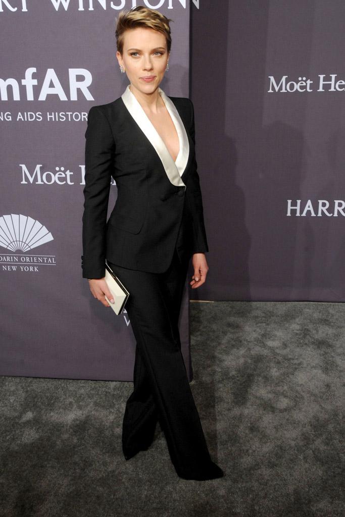 Scarlett Johansson amFAR New York Gala