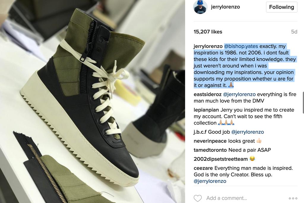 Fear of God Jungle Sneaker