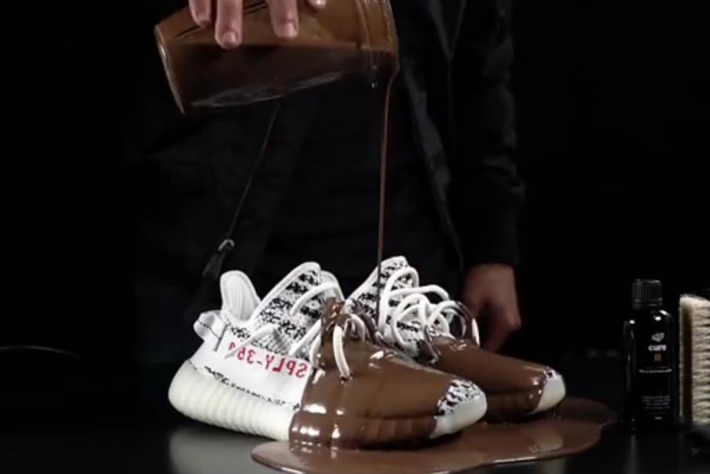 Watch These 'Zebra' Yeezy Boosts Get
