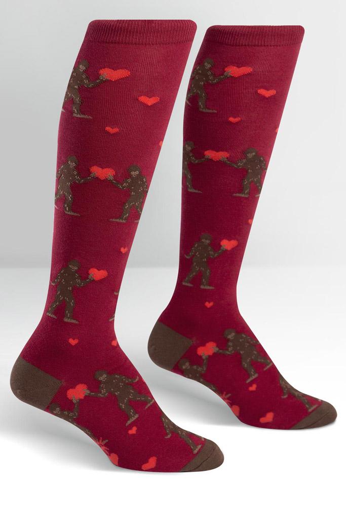Sock It to Me Valentine's Day socks