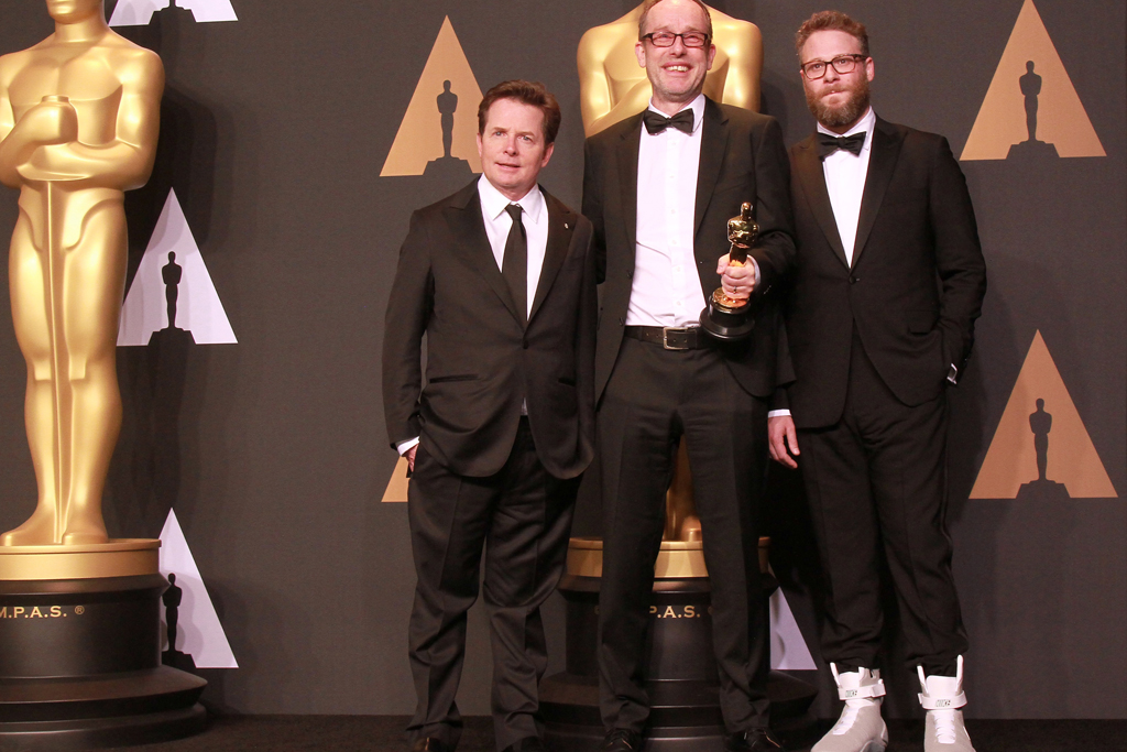 Michael J. Fox, John Gilbert, Seth Rogen