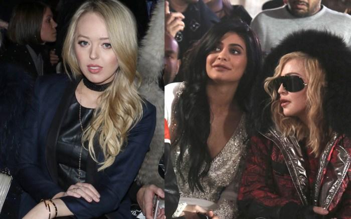 NYFW Fall '17: Tiffany Trump, Kylie Jenner and Madonna