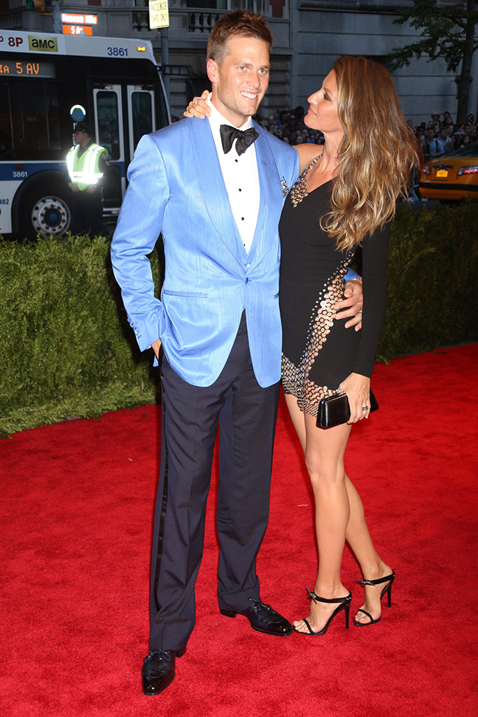 Tom Brady and Gisele Bündchen Red Carpet Style
