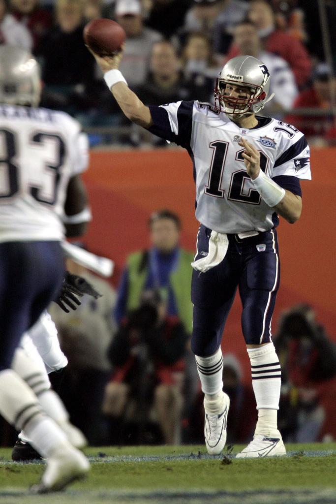 Tom Brady Super Bowl XXXIX Nike cleats