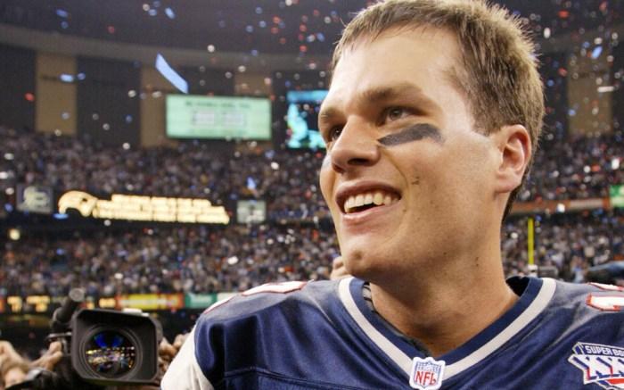 Tom Brady Super Bowl XXXVI