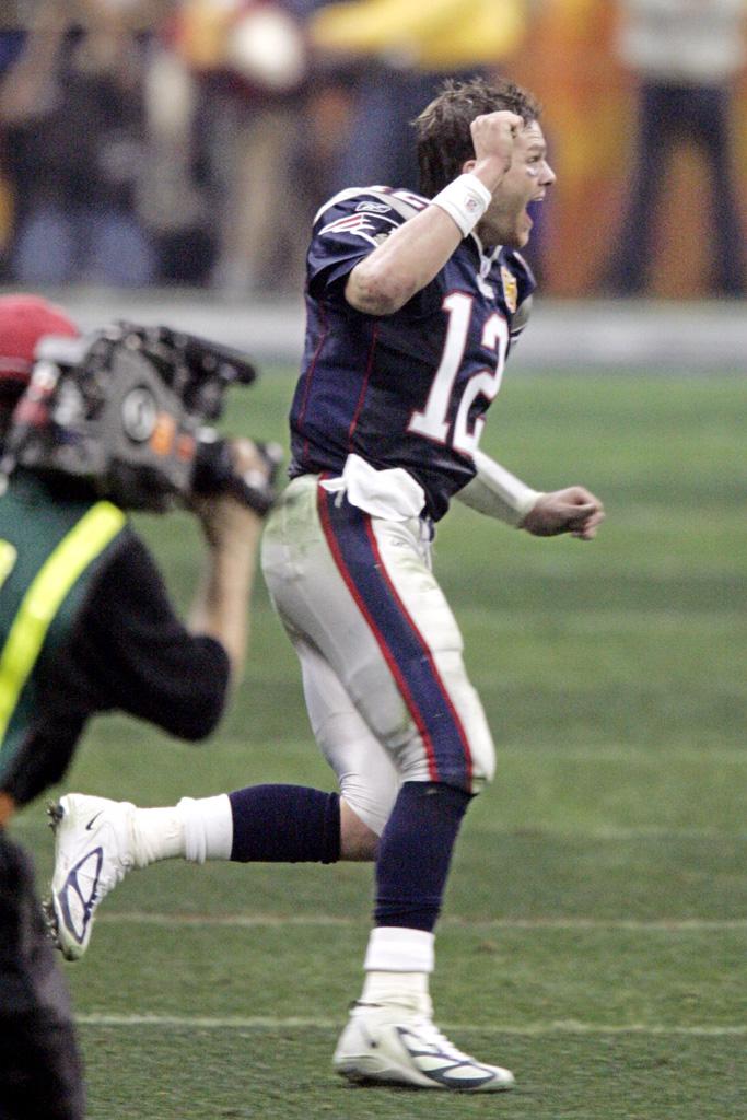 Tom Brady Super Bowl XXXVIII Nike Zoom Air Blade D