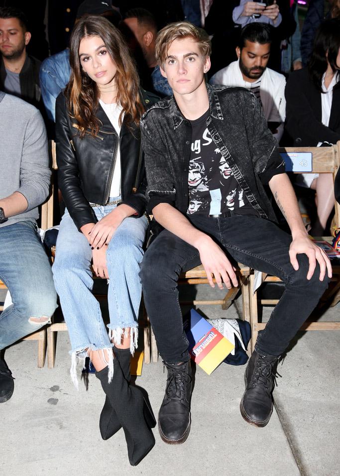 Tommy Hilfiger Gigi Hadid Show Front Row