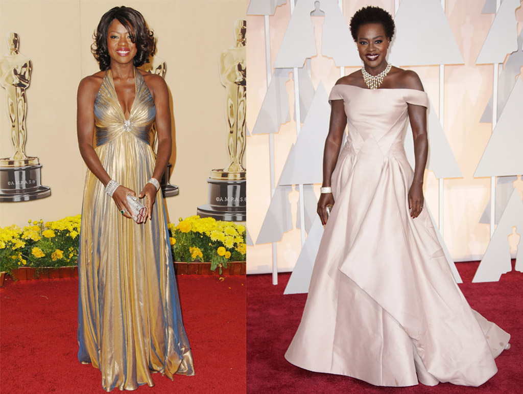 Viola Davis Oscars Red Carpet