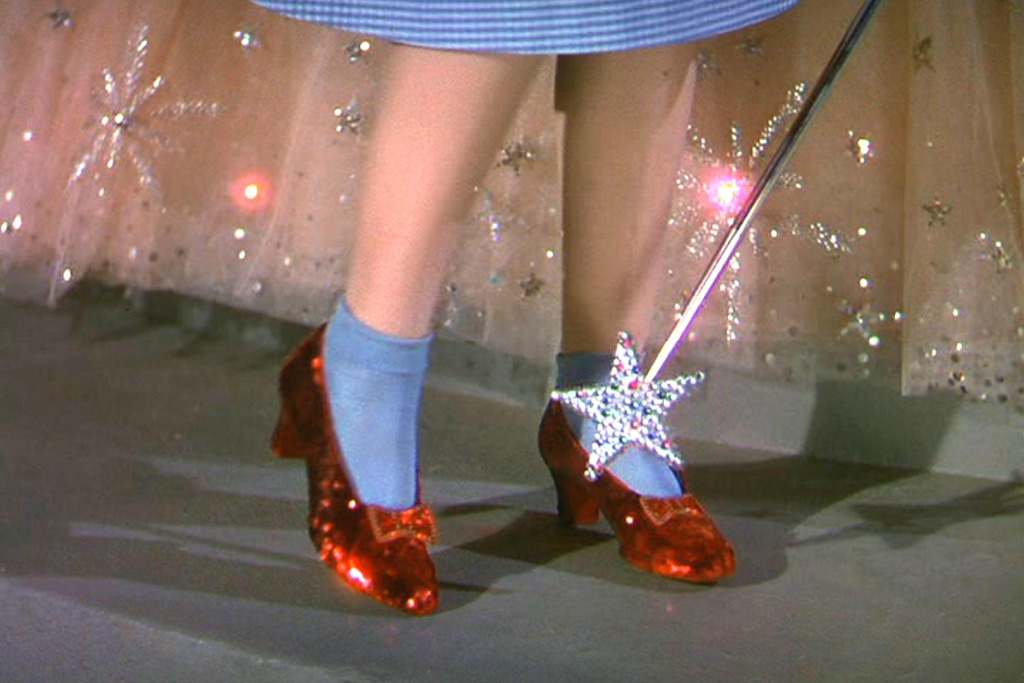 Iconic Movie Shoes Wizard of Oz Judy Garland