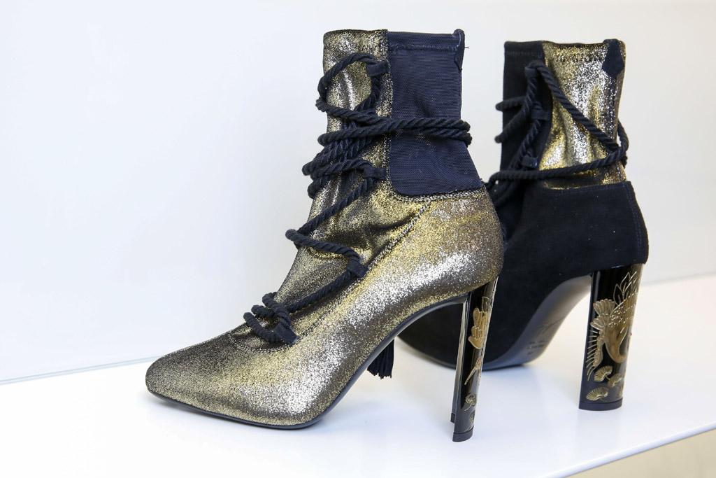 Giuseppe Zanotti fall 2017 milan fashion week