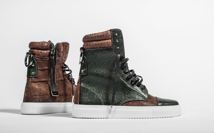 The Shoe Surgeon's Custom Gucci Purse Sneakers