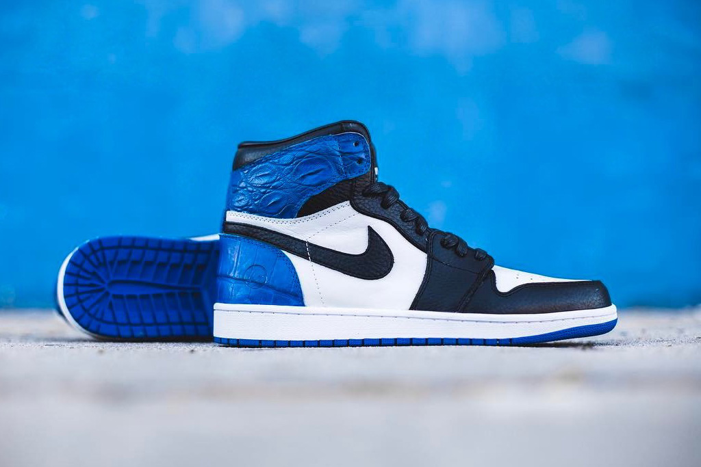The Shoe Surgeon's Custom Air Jordan 1