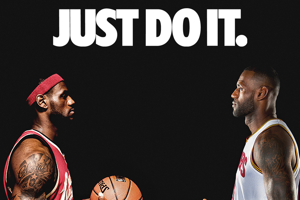 Graphic Designer Imagines Throwback Nike Ads For Today S Nba Players Footwear News