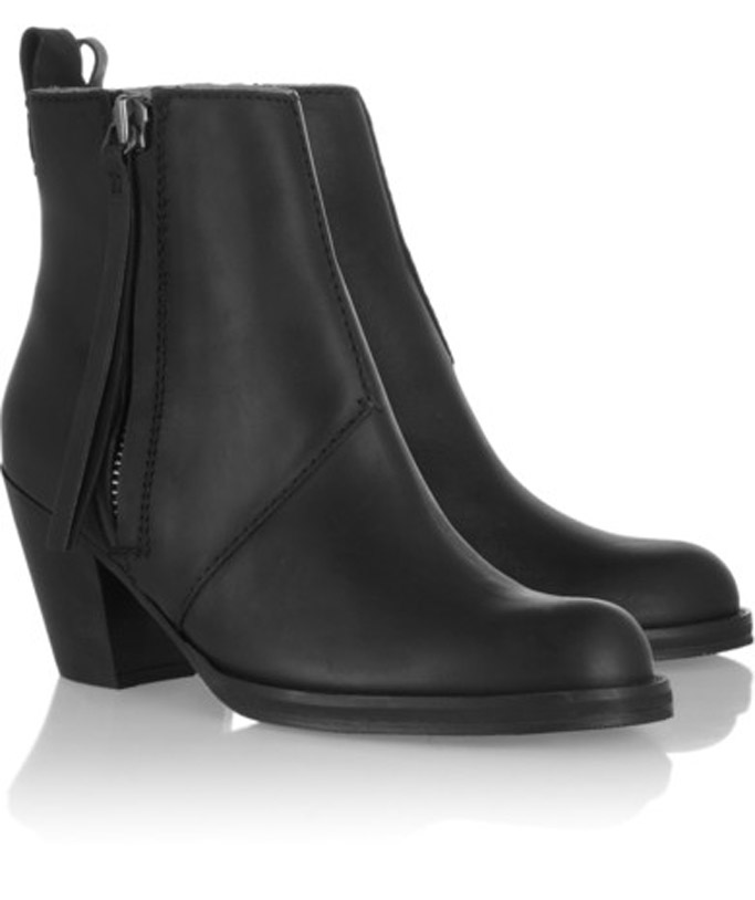 Acne ankle boots pistol