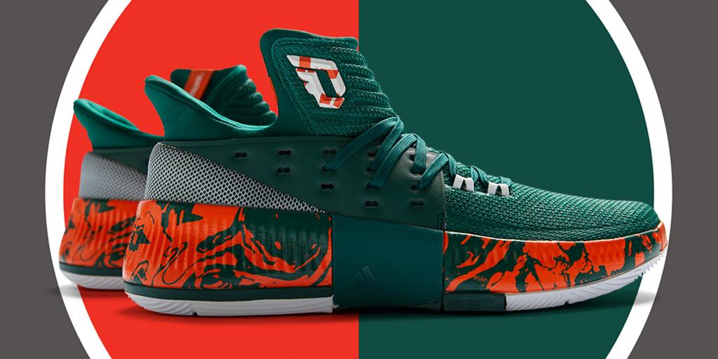 Miami Adidas Dame 3