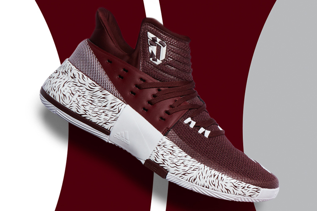 Adidas Dame 3 Mississippi State