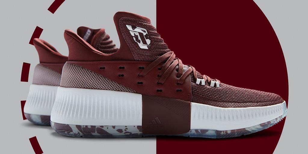 Adidas Dame 3 Texas A&M