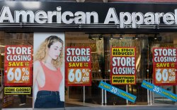 American Apparel out of business bankrupt