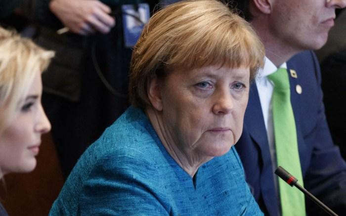 Angela Merkel and Ivanka Trump