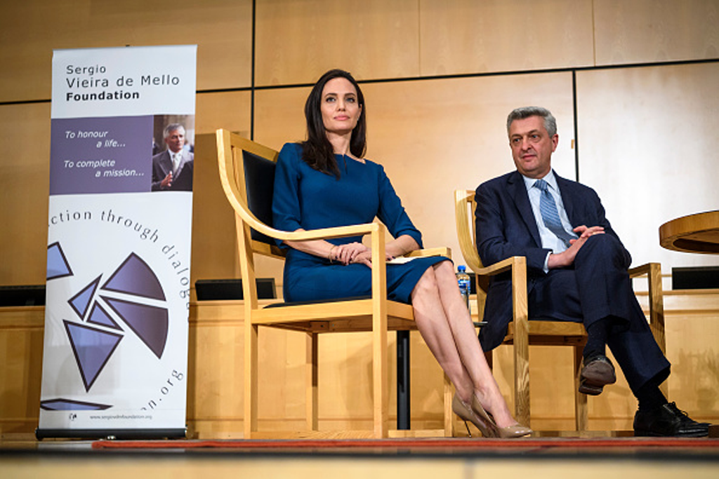 Angelina Jolie United Nations Kurt Geiger Shoes