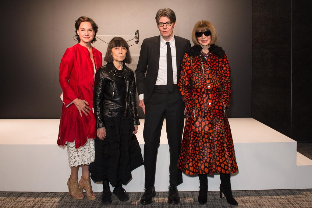 Anna Wintour Press Preview Met Gala Paris