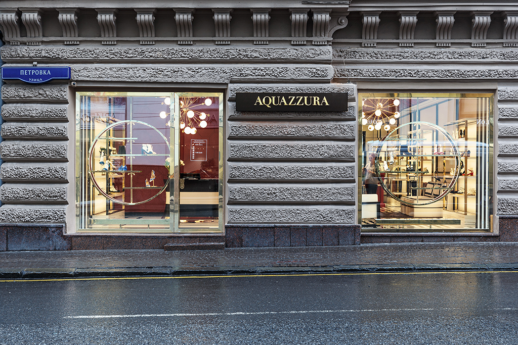 Aquazzura Opens Store in Moscow